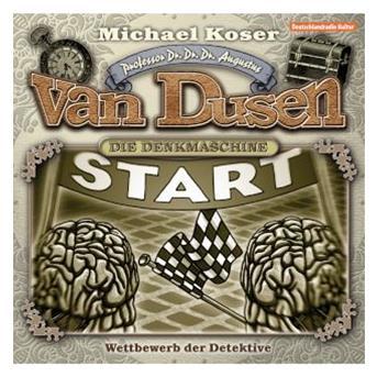 Michael Koser - Professor Van Dusen 14 - Rotes Blut Und Weisser Käse