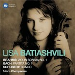 Lisa Batiashvili - Brahms, bach & schubert: violin works