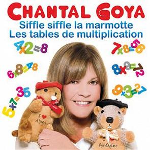 Chantal goya les tables de multiplication siffle - Tables de multiplication en chantant ...