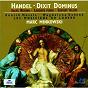 Album Handel: dixit dominus; salve regina; laudate pueri; saeviat tellus de Chorus of les Musiciens du Louvre / Les Musiciens du Louvre-Grenoble / Mark Minkowski / Annick Massis / Magdalena Ko?ená
