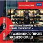 Album Mendelssohn: Symphony No.4 / Brahms: Symphony No.4 de Gewandhausorchester Leipzig / Riccardo Chailly / Félix Mendelssohn / Johannes Brahms