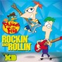 Compilation Phineas and ferb: rockin' and rollin' avec Vanessa / Swampy & the Marsh Mellows / Norm the Robot / Robbie Wyckoff / Baljeet & Buford...