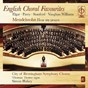 Album English choral favourites de Thomas Trotter / City of Birmingham Symphony Chorus / Simon Halsey