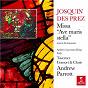 """Album Josquin Des Prez: Missa """"Ave maris stella"""", motets & chansons de Josquin Desprez / Andrew Parrott, Taverner Choir & Taverner Consort"""