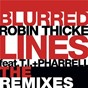 Album Blurred lines (the remixes) de Robin Thicke