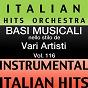 Album Basi musicale nello stilo dei vari artisti (instrumental karaoke tracks) vol. 116 de Italian Hitmakers