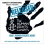 "Compilation ¡released! the human rights concerts 1988: human rights now! avec Youssou N'Dour / Tracy Chapman / Peter Gabriel / Sting / Bruce Springsteen ""The Boss"""