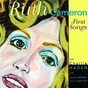 Album First songs de Ruth Cameron