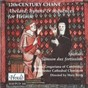 Album 12th-century chant de The Choir of Winchester Cathedral / Schola Gregoriana of Cambridge / Mary Berry
