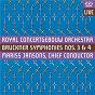 """Album Bruckner: Symphonies Nos 3 & 4, """"Romantic"""" de The Amsterdam Concertgebouw Orchestra / Anton Bruckner"""