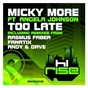 Album Too late (feat. angela johnson) de Micky More