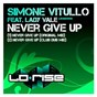 Album Never give up (feat. lady vale) de Simone Vitullo