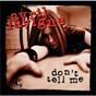 Album Don't tell me de Avril Lavigne
