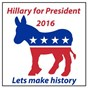 Compilation Hillary for president 2016: lets make history avec Homegrown Peaches / Sassydee / Champs United / Carol Candy / Chelsea Heart...