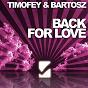 Album Back for love de Timofey, Bartosz Brenes