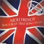 Album Don't Play That Song Again (Radio Mix) de Nicki French