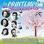 Compilation Le printemps en chansons avec Janine Ribot / Gilbert Bécaud / Isabelle Aubret / Loris Velli / Yvette Giraud...