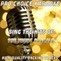 Album Sing the hits of the young rascals (karaoke version) (originally performed by the young rascals) de Pro Choice Karaoke