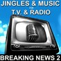 Album Jingles & music for TV & radio (breaking news 2) de Dan Barrangia