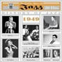 Compilation The golden years of jazz (1949) (20 hits) avec Buddy de Franco / The Metronome All Stars / Tadd Dameron & His Orchestra / Lionel Hampton / George Shearing...