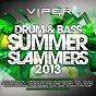 Compilation Drum & bass summer slammers 2013 (viper presents) avec Hadouken / Matrix & Futurebound / Maduk / Metrik / Afrojack...