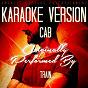Album Cab (karaoke version) (originally performed by train) de Ameritz Karaoke Entertainment