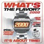 Compilation What's the flavor ? 2000 by funky maestro (it's about time) avec Vensty / DJ Poska / Aktfräzé / L'Empire / I.M.S....