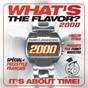 Compilation What's the flavor ? 2000 by funky maestro (it's about time) avec Octobre Rouge / DJ Poska / Aktfräzé / L'Empire / I.M.S....