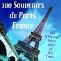 Compilation 100 souvenirs de paris, france (100 greatest paris hits of all time) avec Yvette Horner / Colette Renard / Édith Piaf / Jean-Claude Pascal / Jacques Brel...