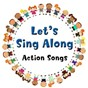 Album Let's sing along action songs de The Tiny Boppers