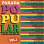 Compilation Parada popular, vol. 1 avec Bebeto / Marco Monteiro / Wilson Rogério / Gino Liver / Eliel Barbosa...