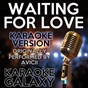 Album Waiting for love (karaoke version) (originally performed by avicii) de Karaoke Galaxy