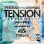 Album Tension (the remixes) de Colombo / Pyramid