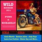 Compilation Wild rockin 50's: punk & rockabilly (girls girls girls) avec Debbie Stevens / Janis Martin / Barbara Allen / Jo Ann Campbell / Martha Carson...