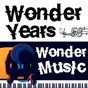 Compilation Wonder years, wonder music 58 avec Art Blakey / Ella Fitzgerald / Tommy Dorsey &his Orchestra With Frank Sinatra & the Pied Pipers / Bobby Darin / The Marvelettes...