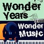Compilation Wonder years, wonder music. 105 avec Leroy van Dyke / Glenn Miller / Buddy Holly / Ella Fitzgerald / Roy Hawkins...