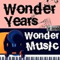 Compilation Wonder years, wonder music. 126 avec Alfred Newman / Martha Reeves / The Vandellas / Paul Anka / Sam Cooke...