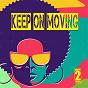 Compilation Keep on moving avec Class of '88 / Jason Rivas, Funkenhooker / Jason Rivas / Background Electric / Jason Rivas, Cellos Balearica...