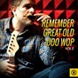 Compilation Remember great old doo wop, vol. 2 avec The Regents / Harvey & the Moonglows / Paragons & Mystrys / Riki Troy / The Delmonicos...
