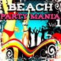 Compilation Beach party mania, vol.1 avec Beat Camouflage / Djane Turrach / Deejay Advance / Big City Angels / Crazy M...