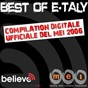 Compilation Best of e-taly - la compilation digitale ufficiale del mei 2006 avec Moltheni / Bandabardò / Gennaro / Vallanzaska / Nada...