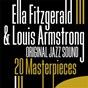Album 20 masterpieces (original jazz sound) de Ella Fitzgerald / Louis Armstrong