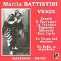 Album Mattia battistini chante verdi de Mattia Battistini