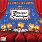 Compilation 50 chefs-d'oeuvre de la musique classique avec André Girard / Frédéric Chopin / Edward Grieg / Franz Schubert / Robert Schumann...