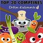 Compilation Top 20 comptines : drôles d'aliments avec Jémy / Titia & Frédéric Martin / Gérard Capaldi / Francine Chantereau / Les Devanautes...