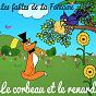 Album Les fables de la fontaine - le corbeau et le renard de Sidney Oliver