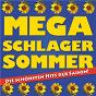 Compilation Mega schlager sommer - die schönsten hits der saison avec Duo California / Uwe Busse, Karlheinz Rupprich / Rex Gildo / Die Flippers / Chris Flanger, Isabel Silverstone...
