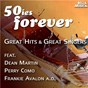 "Compilation 50ies forever - great hits & great singers avec Tab Hunter / Tiomkin, Washington / Frankie Laine / Leiber, Stoller / Elvis Presley ""The King""..."