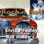 "Compilation Rock 'N roll avec Johnny Dee / C M Freedman, J del Knight / Bill Haley / Leiber, Stoller / Elvis Presley ""The King""..."