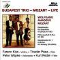Album Budapest Trio - Mozart (Live) de Kurt Redel / Budapest Trio / Ferenc Kiss / Tivadar Popa / Peter Wöpke...